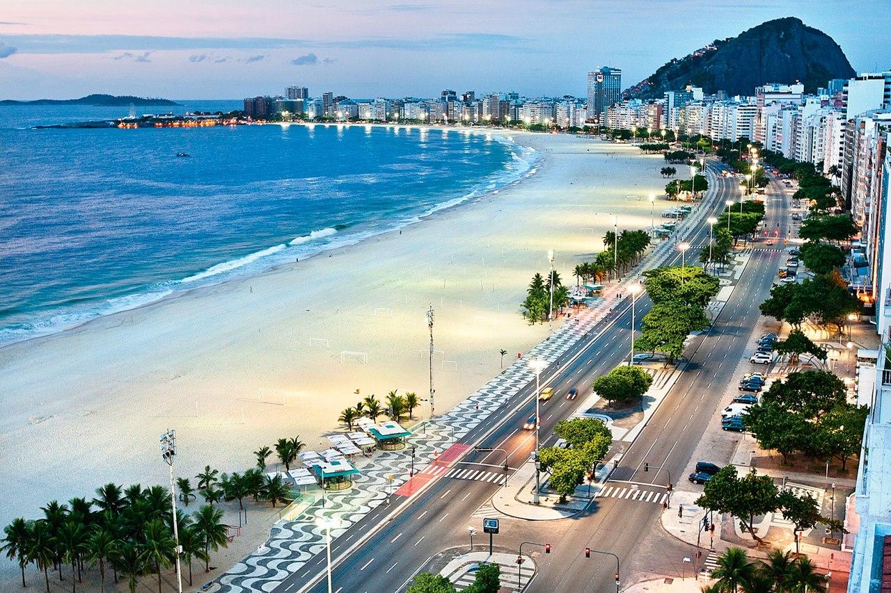 пляж Прайа Вермелья Бразилия