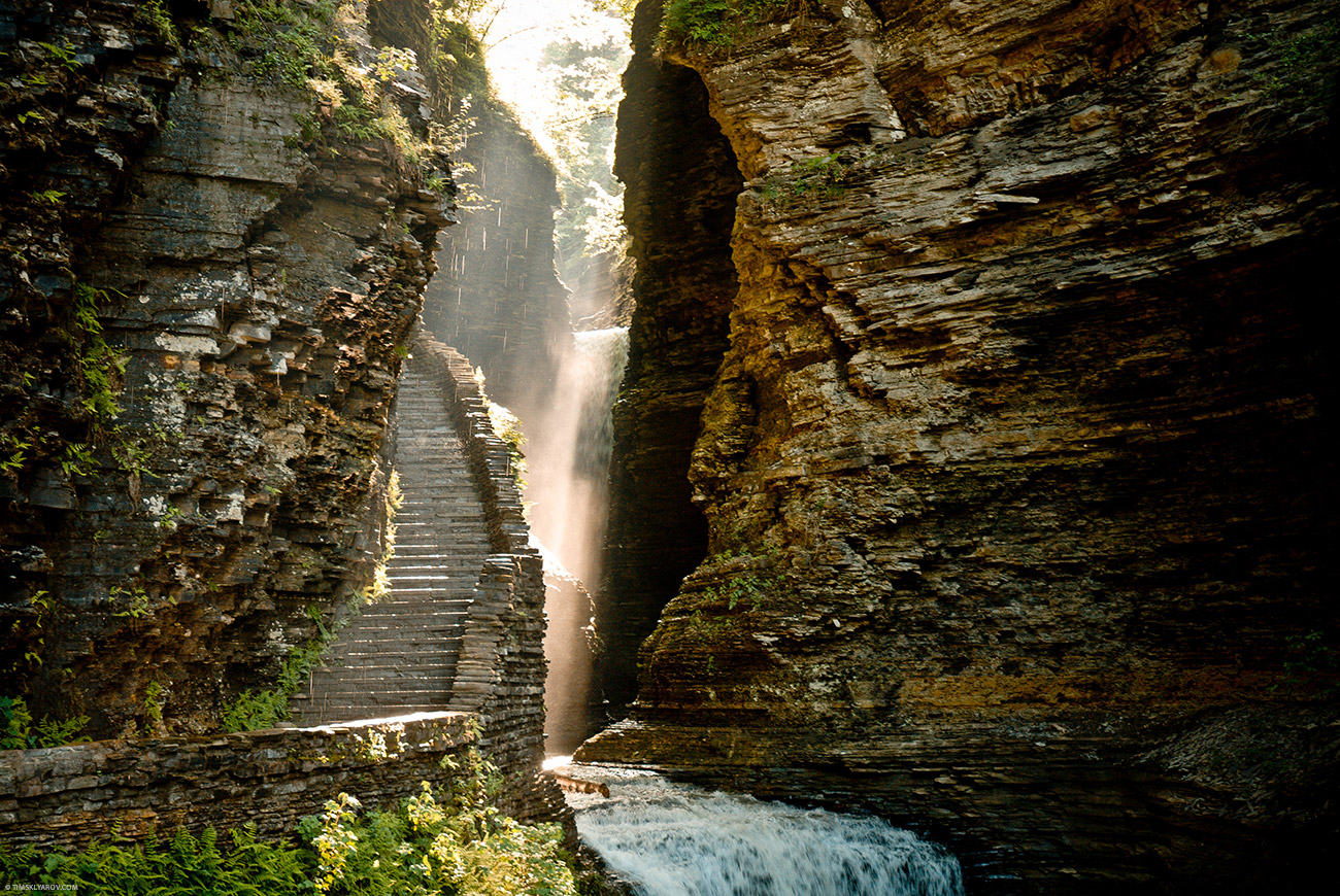 Парк Штата Уоткинс Глен (Watkins Glen State Park), Нью-Йорк