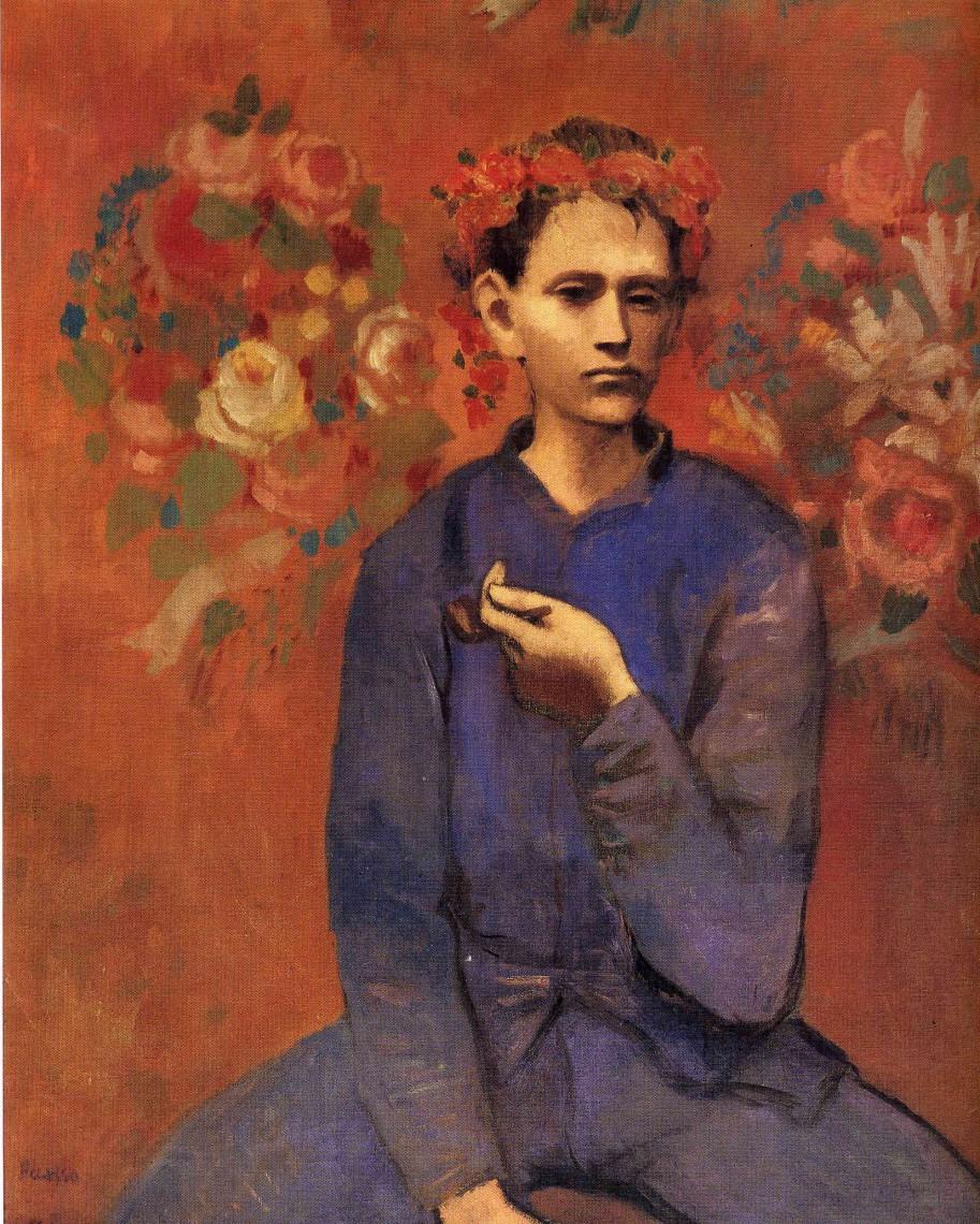 Мальчик с трубкой, Пабло Пикассо