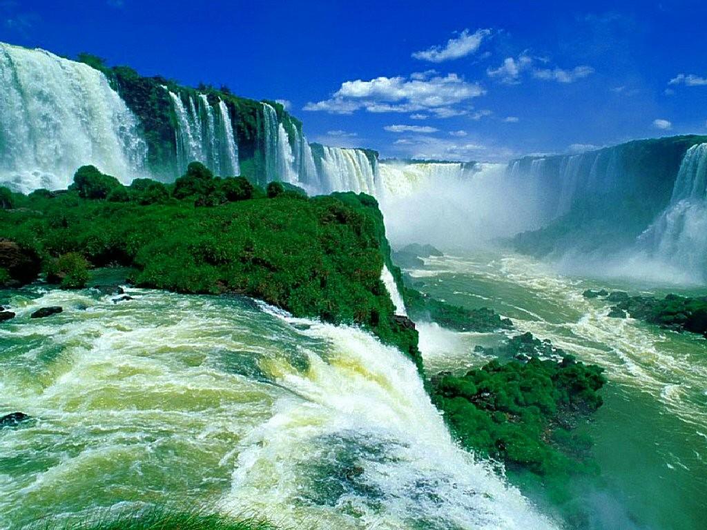 водопад, водопад Игуасу