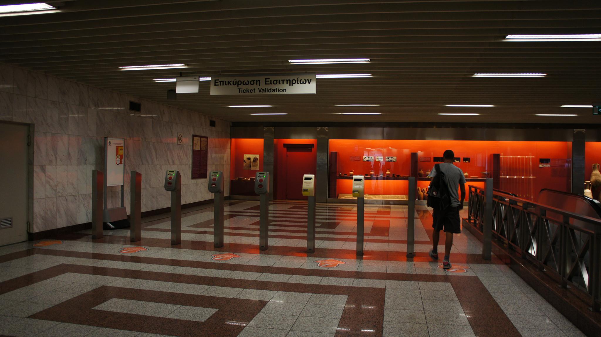 метро в Афинах, Греция