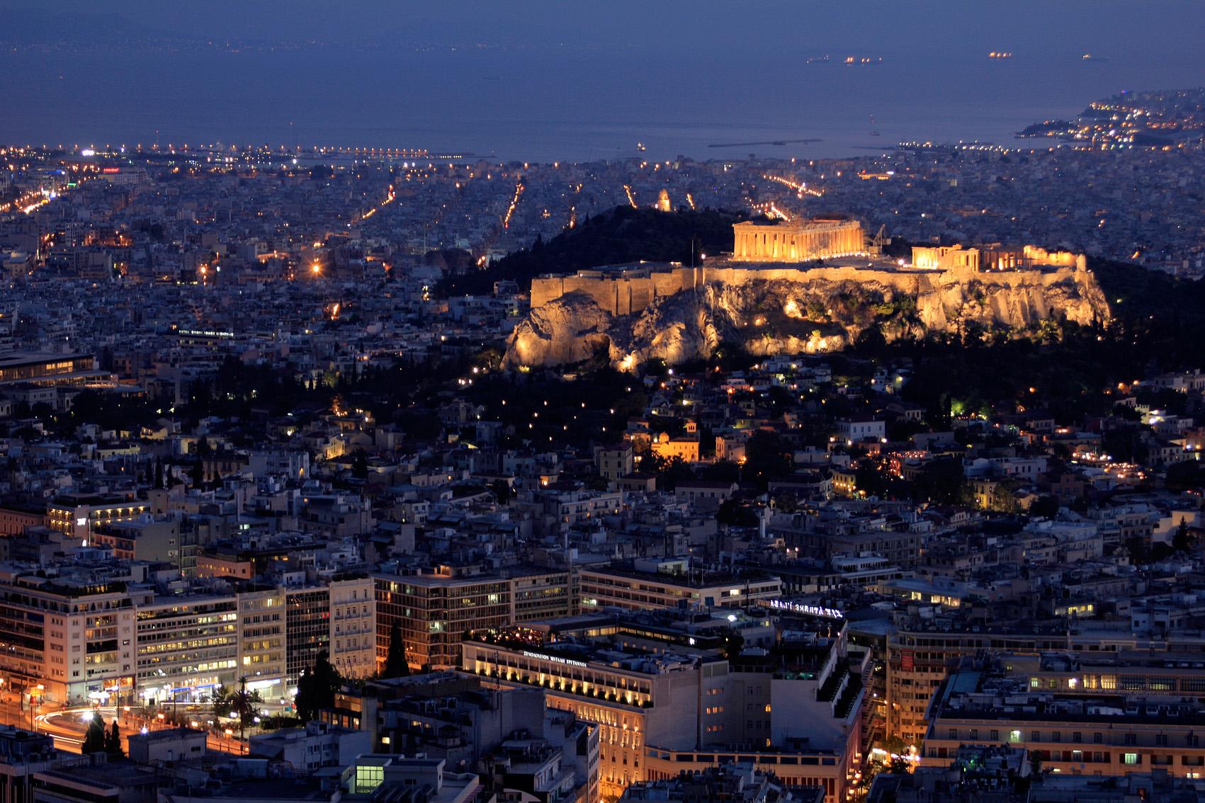 Athens-night