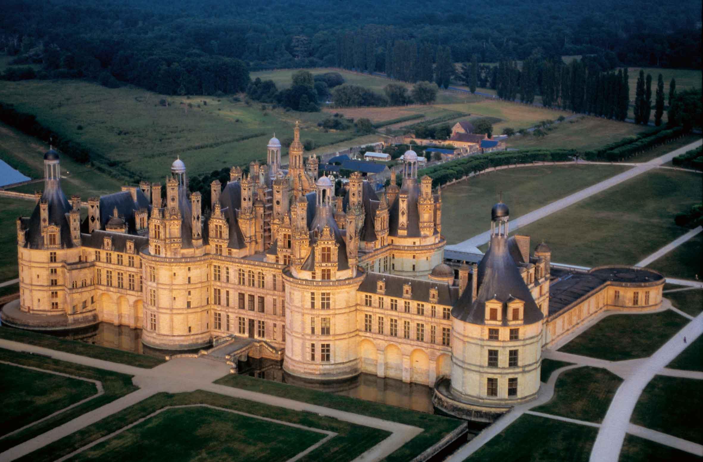 Château-de-Chambord-castle