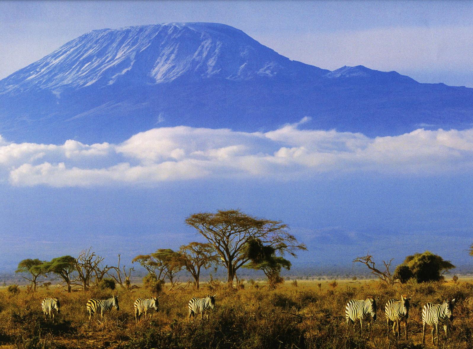 Африка, Килиманджаро, Танзания