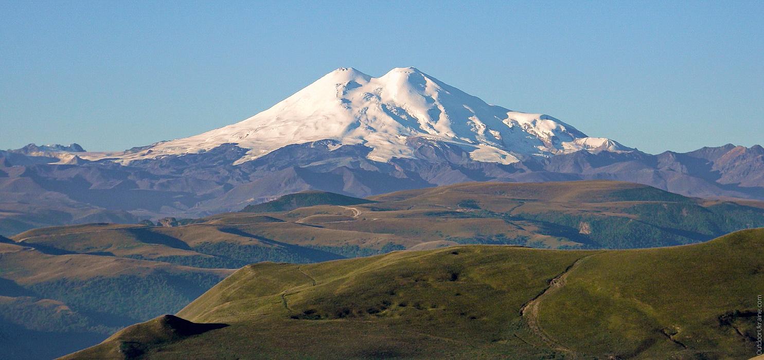 Эльбрус, Кавказские горы, Россия