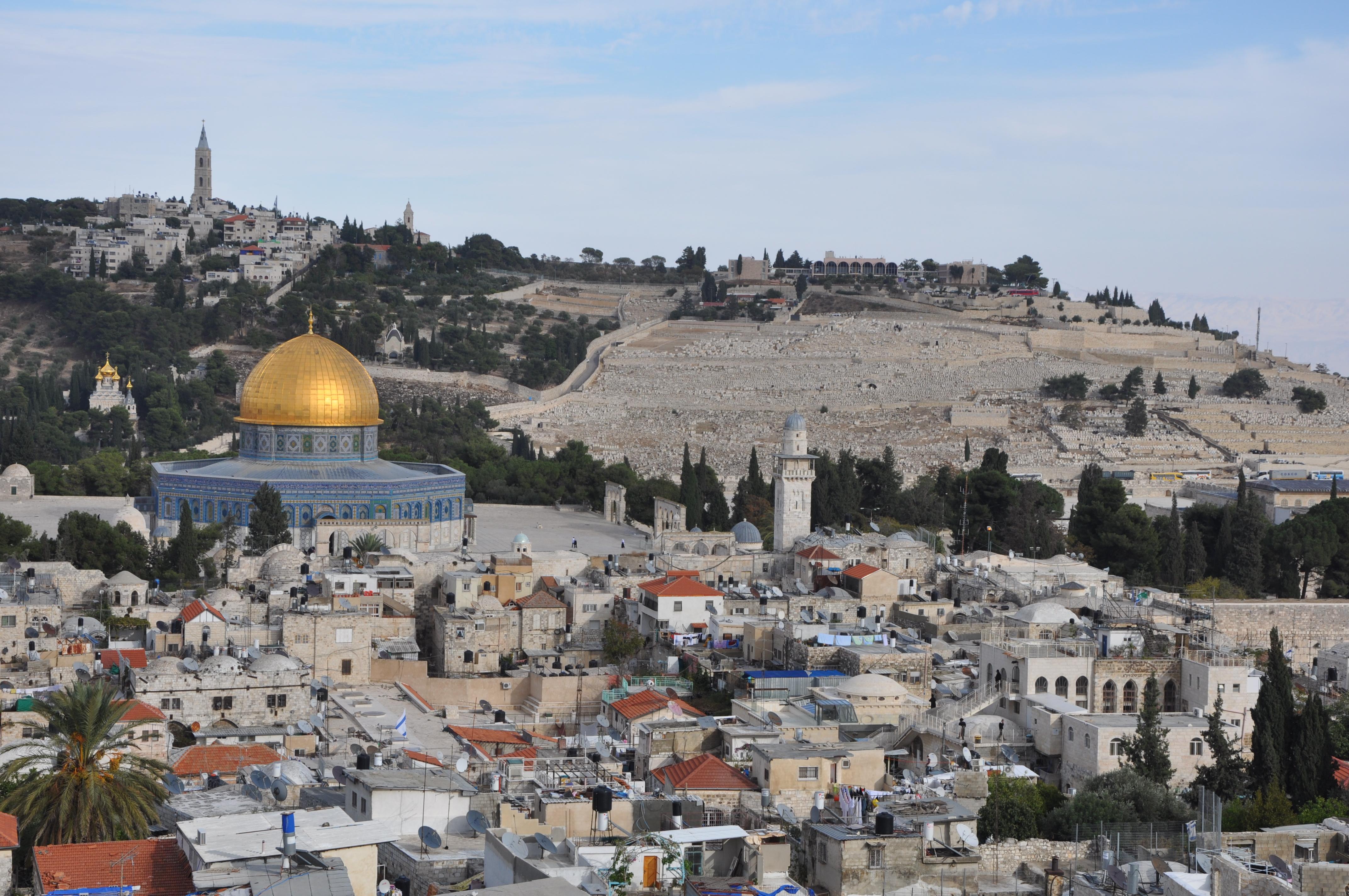 Иерусалим-город трех религий