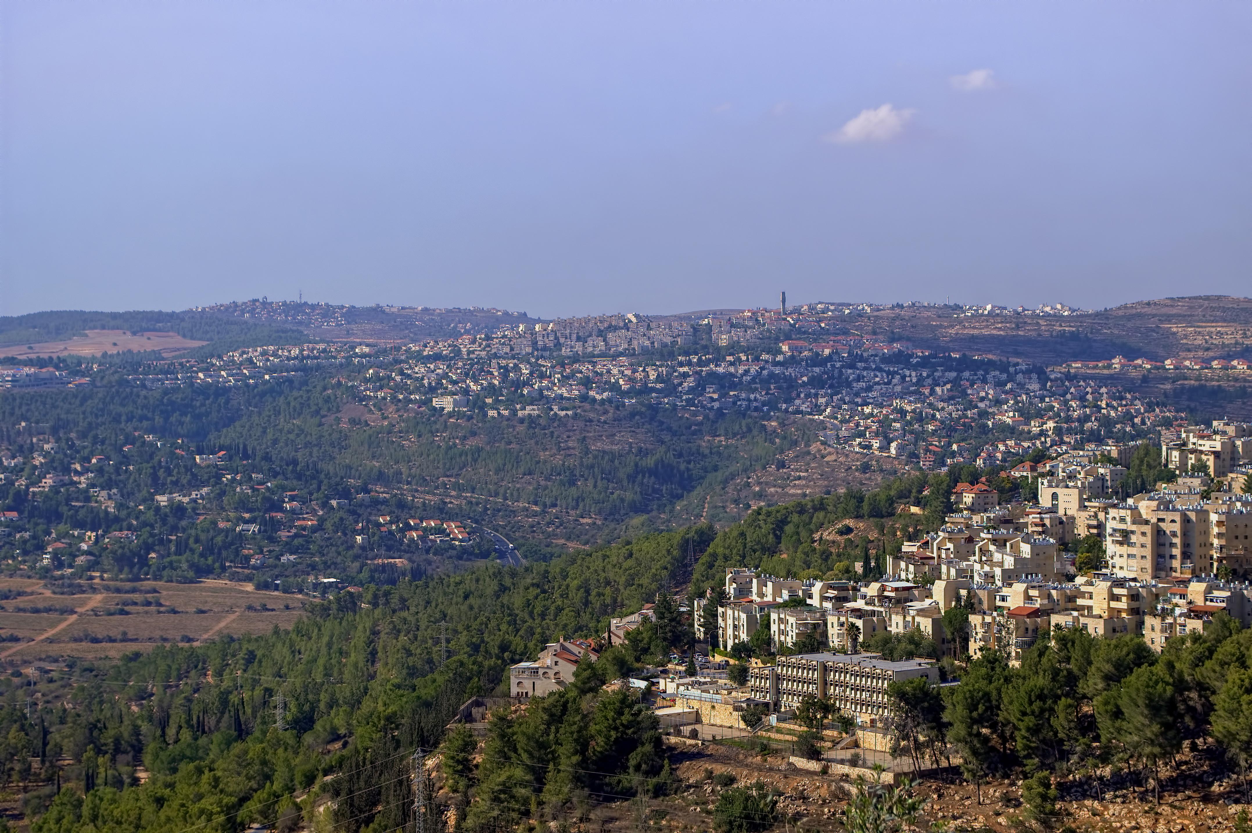 Иерусалим - вид с высоты птичьего полета