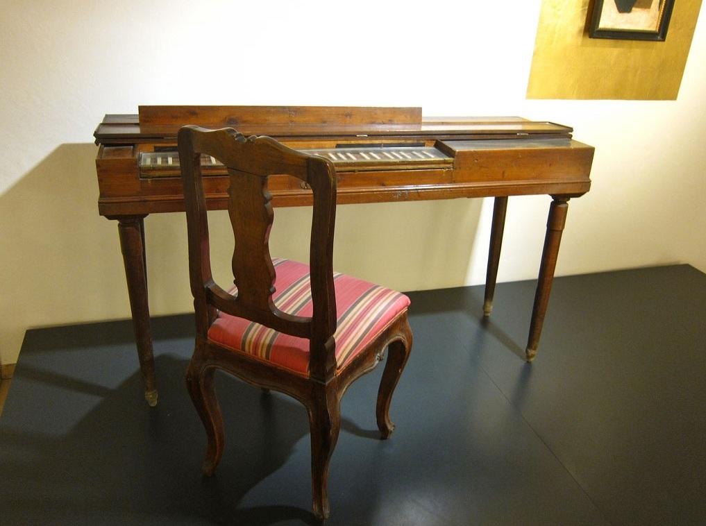 Клавикорд Моцарта