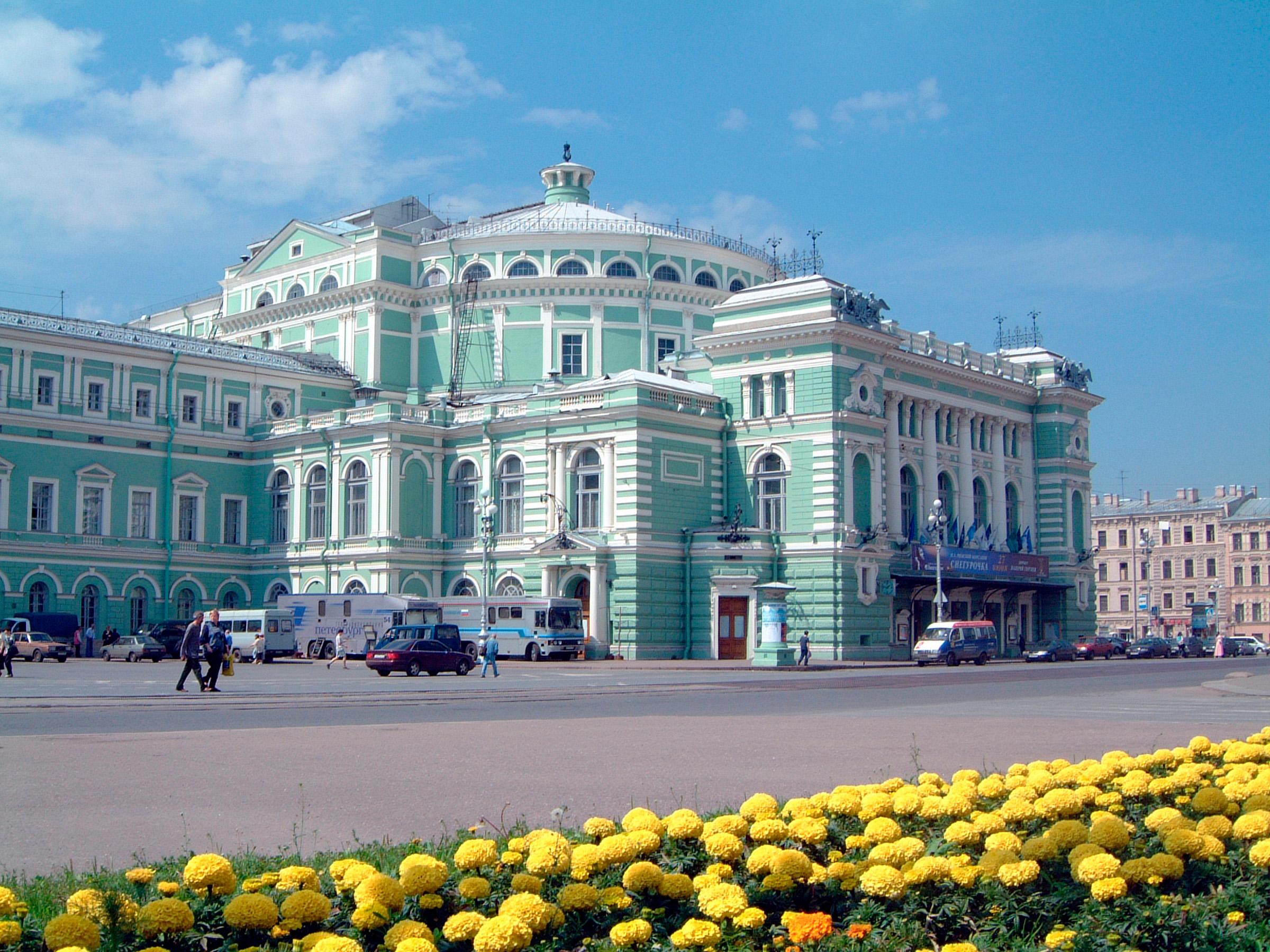 Мариинский театр, Санкт-Петербург, Россия