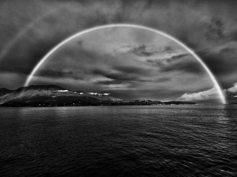 погоня за радугой, фото дня