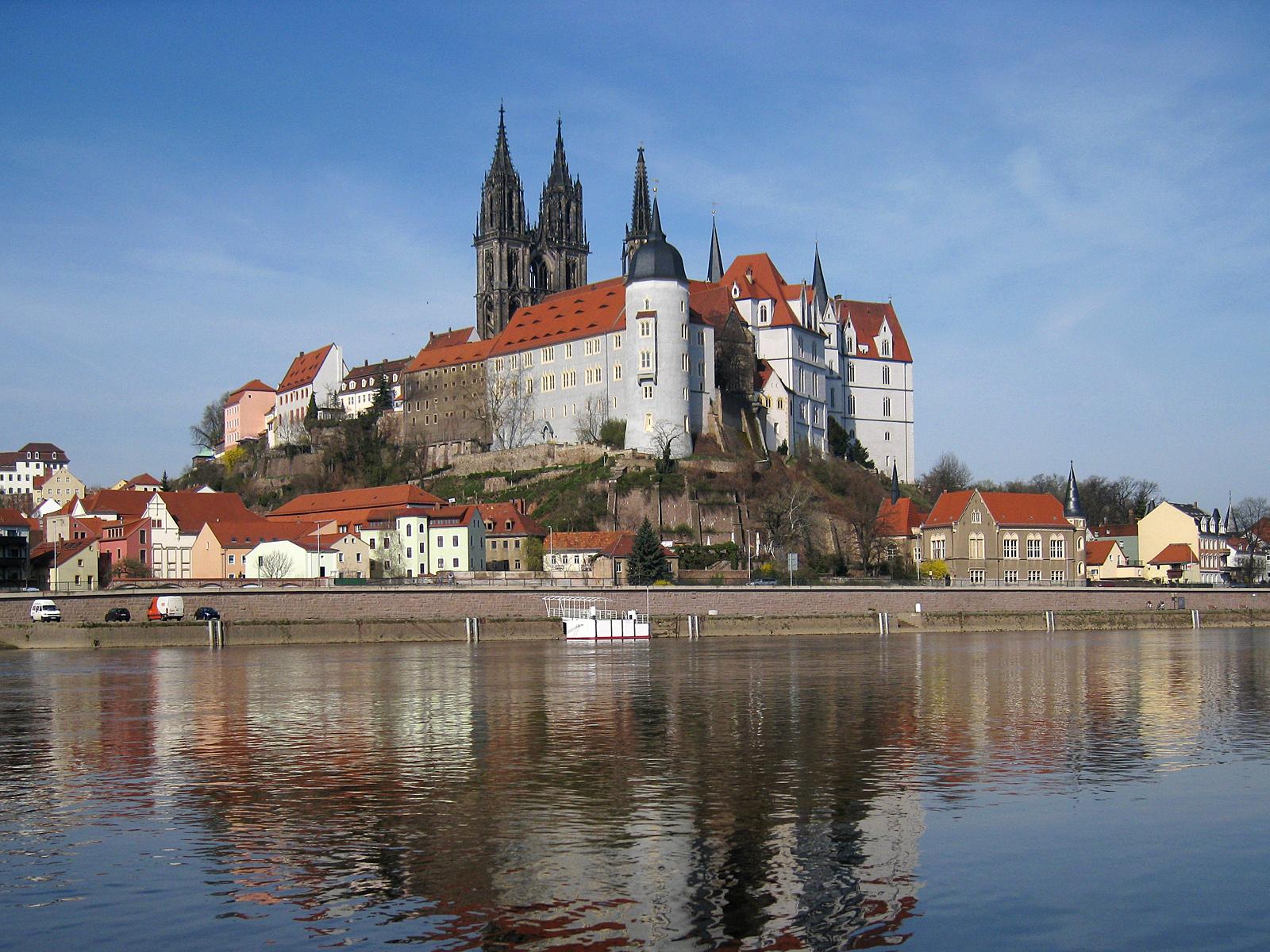 альбрехтсбург-замок-мейсен-германия