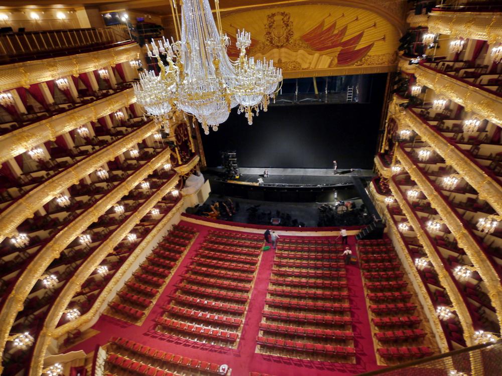 Большой театра вид на сцену