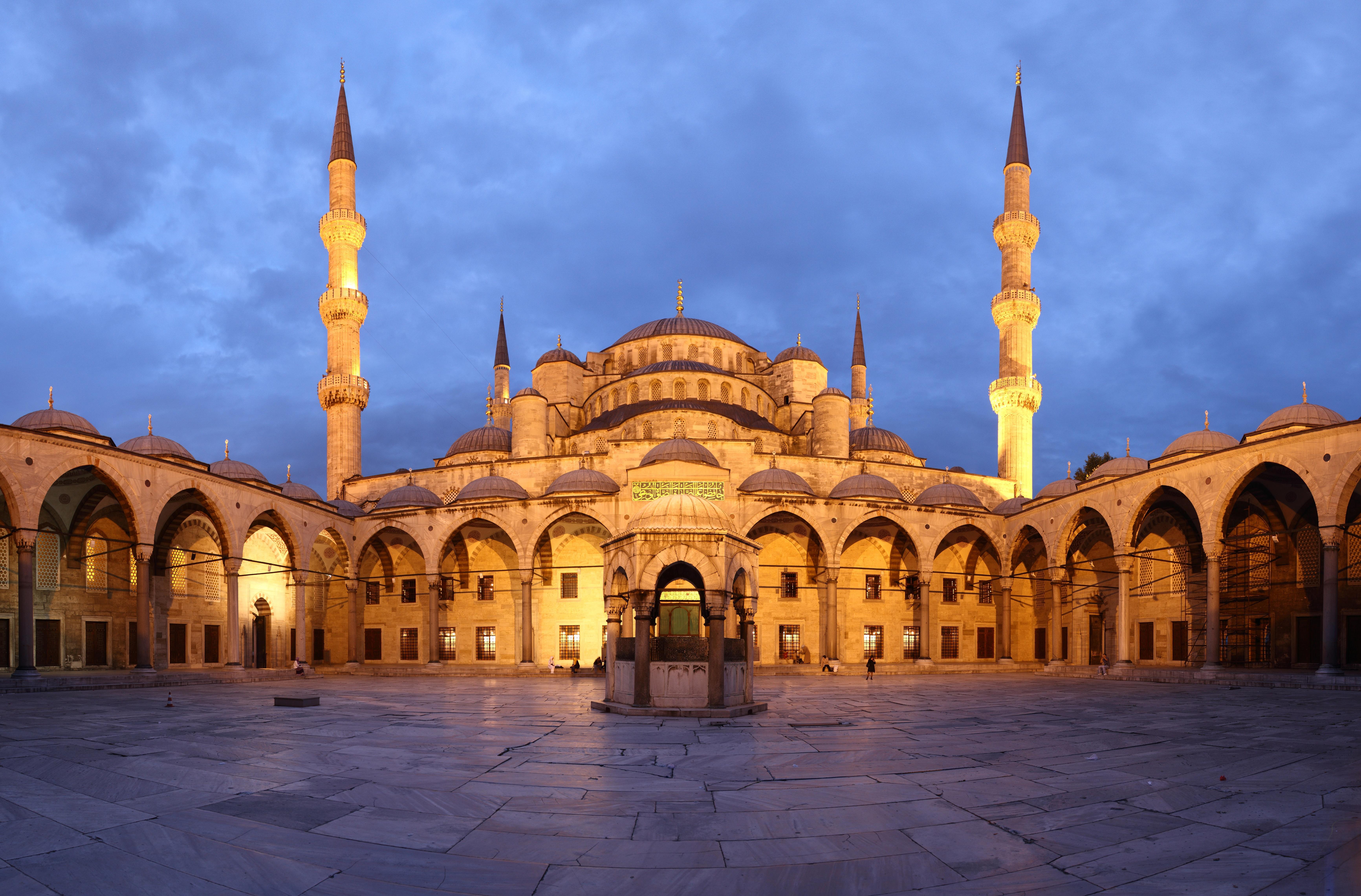 Голубая-мечеть-Стамбул-Турция