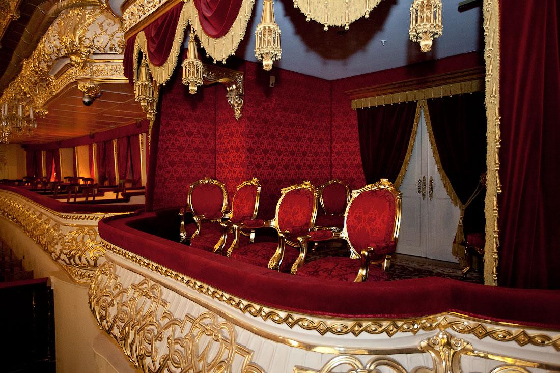 Большой театра внутри