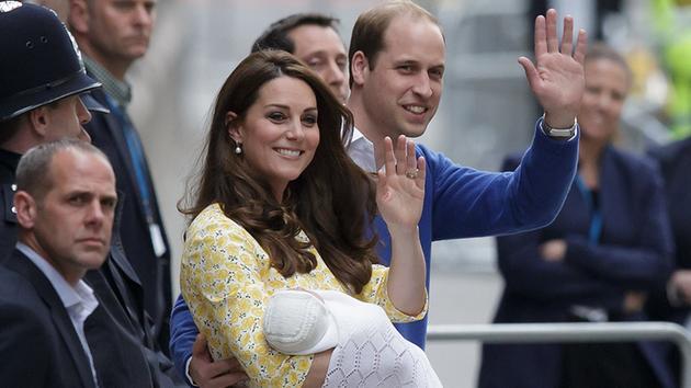 Королевская семья. У принца Уилльяма и Кейт Миддлтон родилась дочь