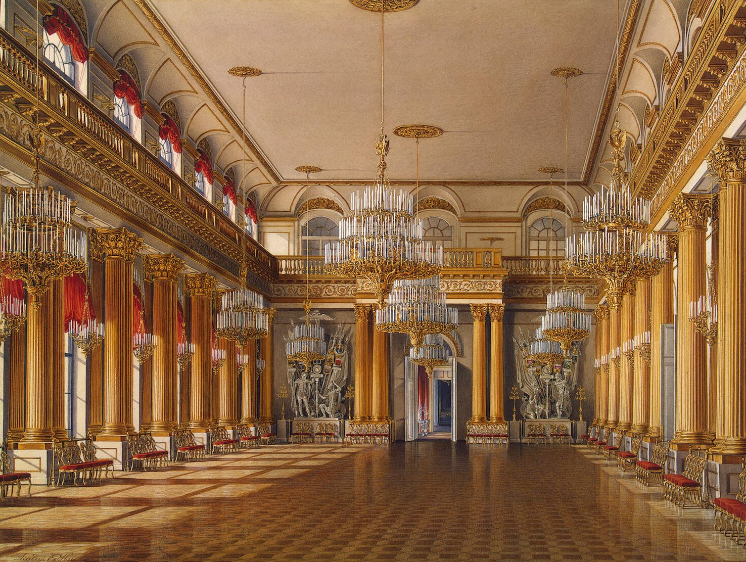 Hau._Interiors_of_the_Winter_Palace._The_Armorial_Hall