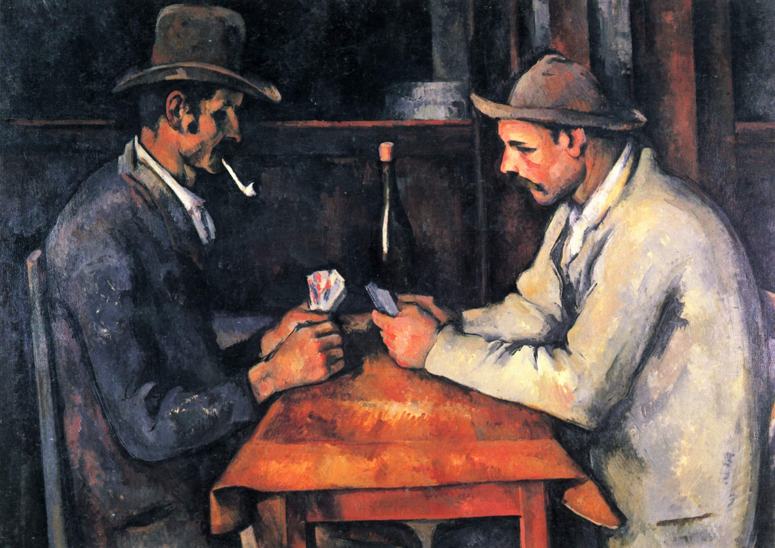 The Card Players Paul_Cézanne