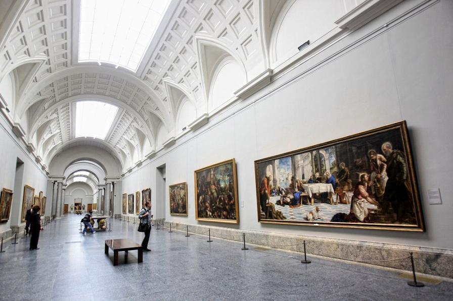 Музей-Прадо-Мадрид-интерьер