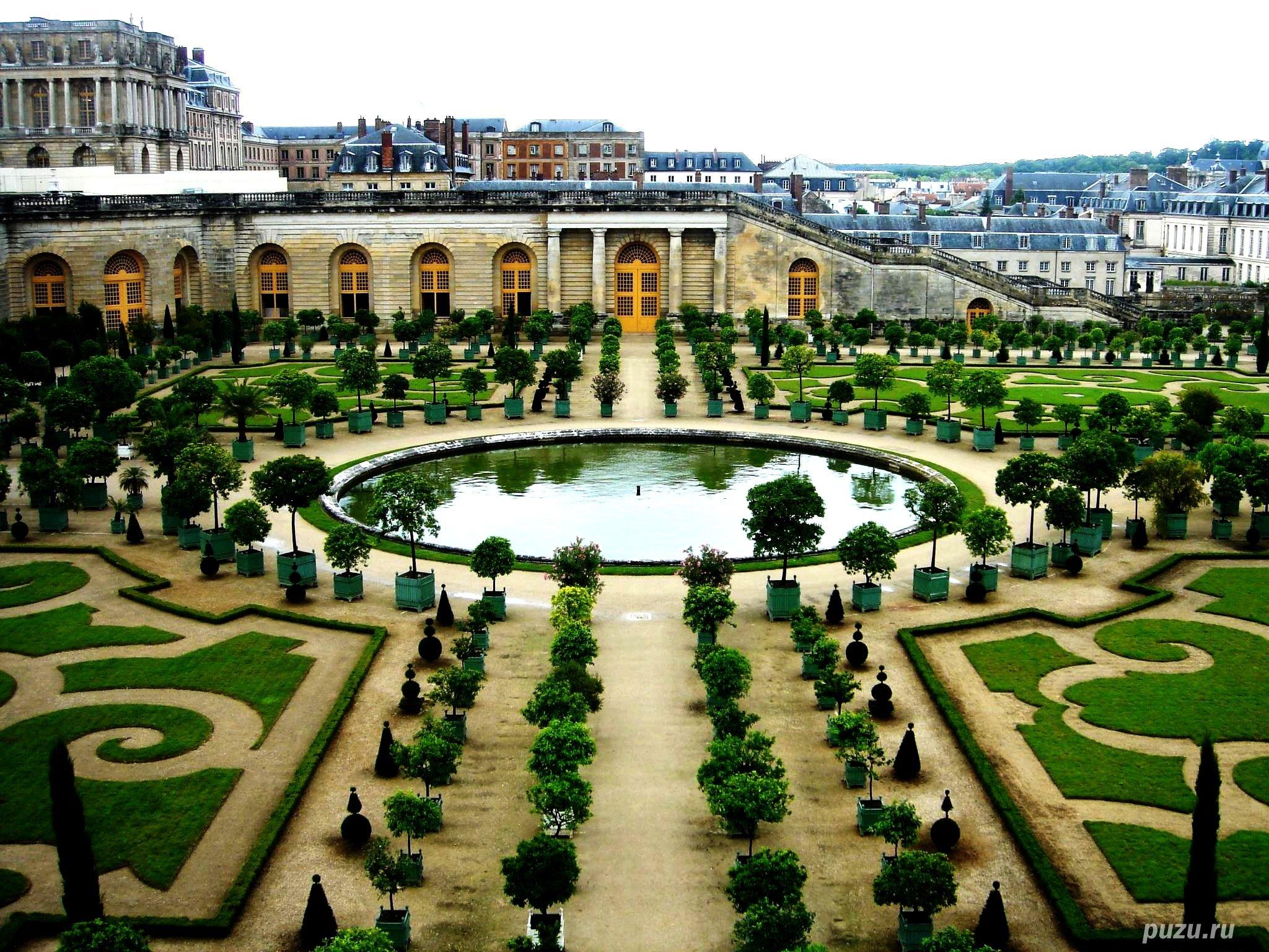 Сады_Версаля_Версальского_дворца_вид_сверху