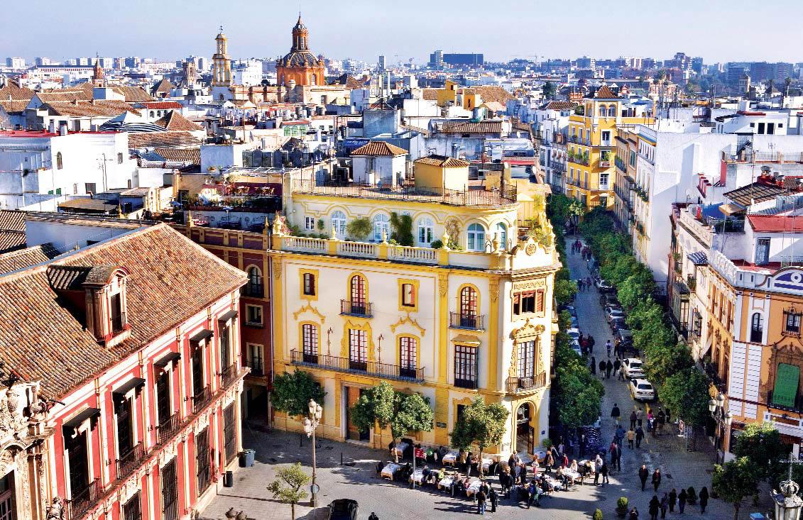 улица-Калле-до-Сьерпес-Севилья_Андалусия_Испания