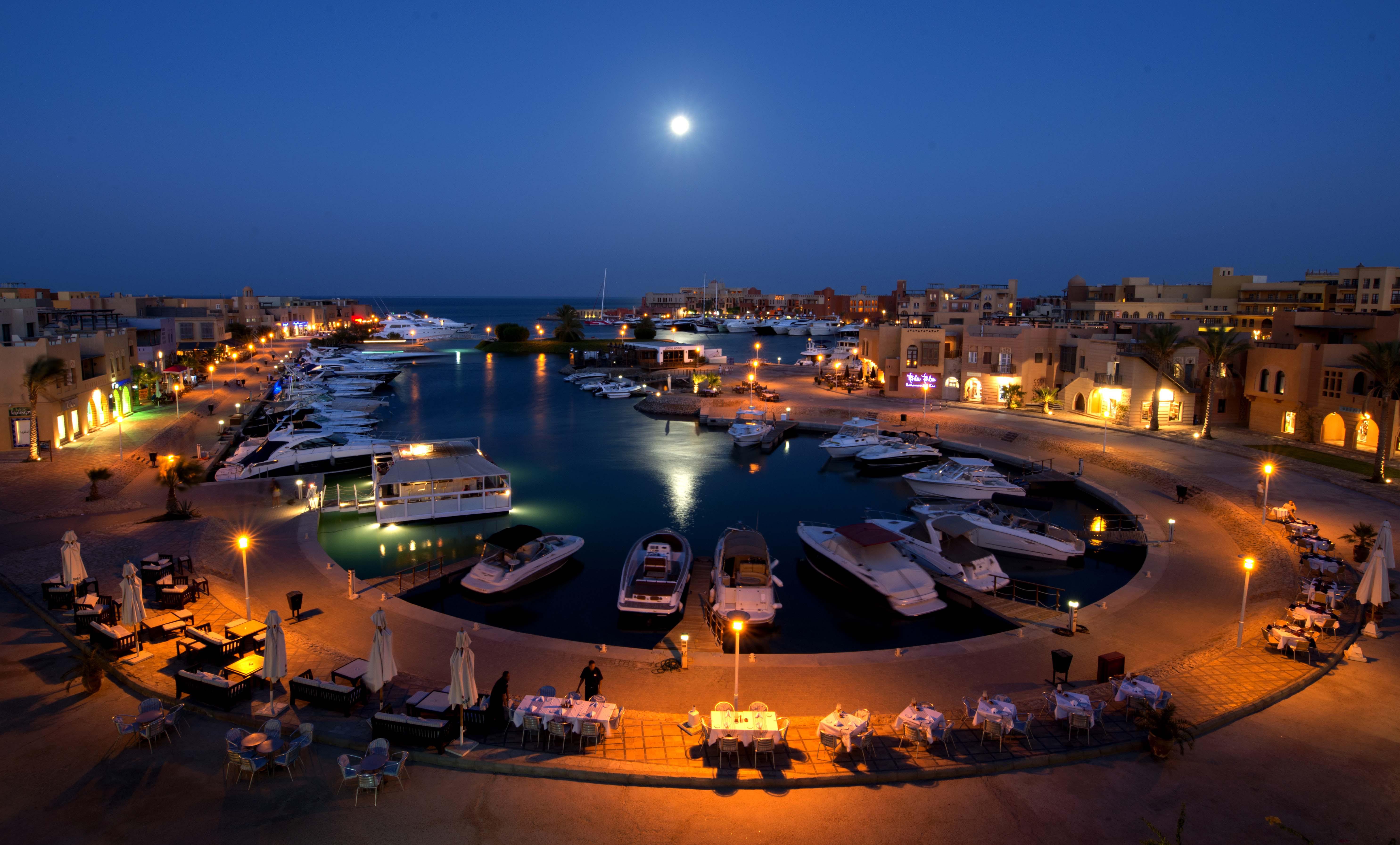 порт-ночью-эль-гуна-египет
