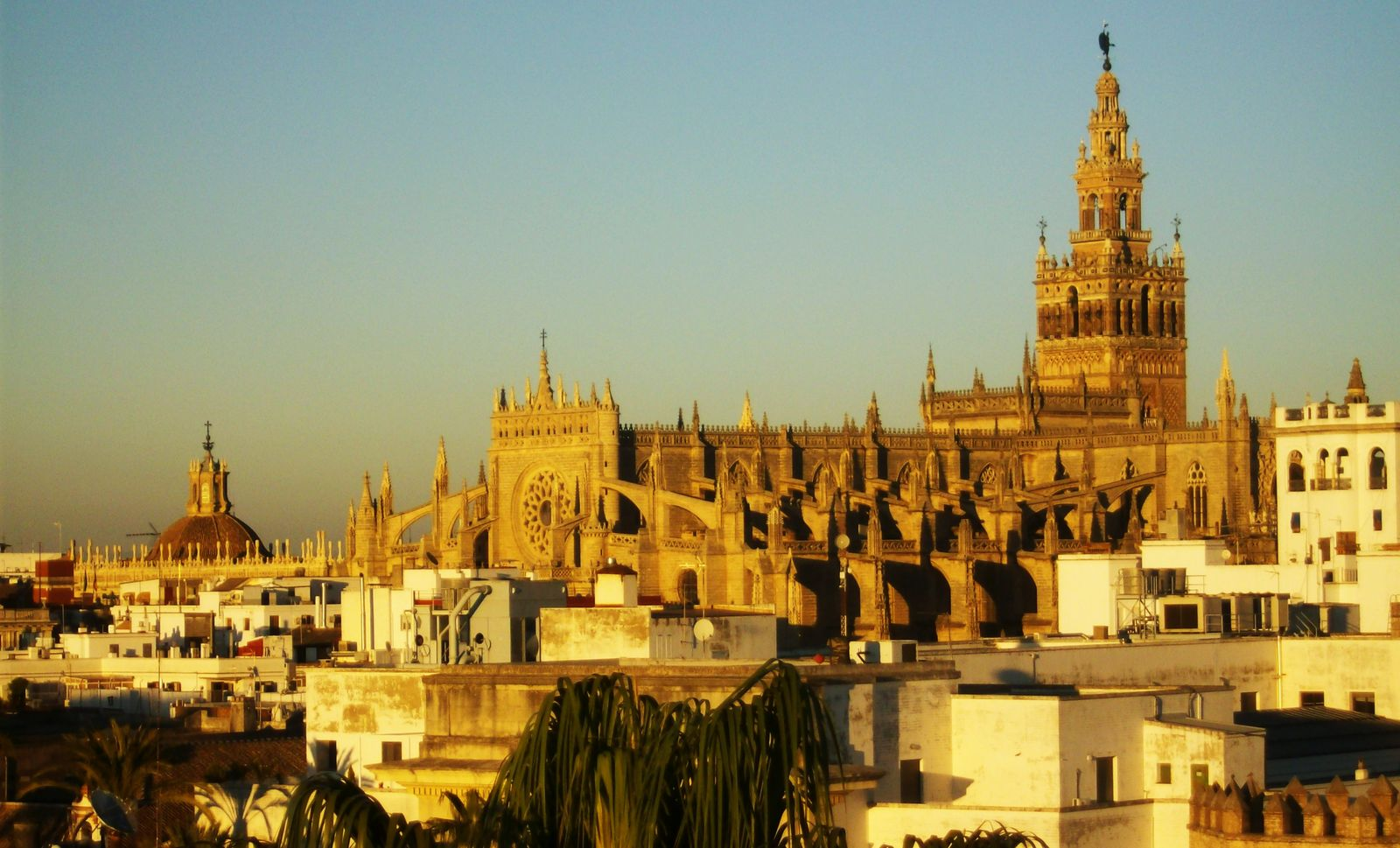 Севилья, Испания, Андалусия, вид на город
