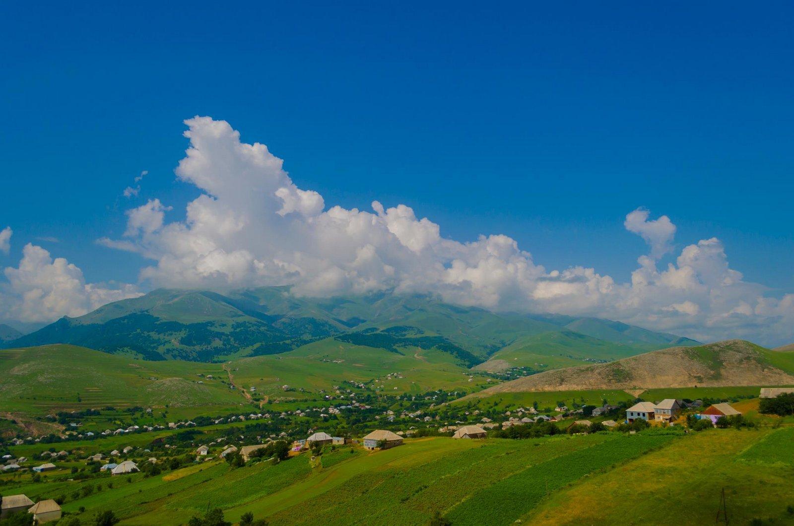 Село-Славянка-Азербайджан