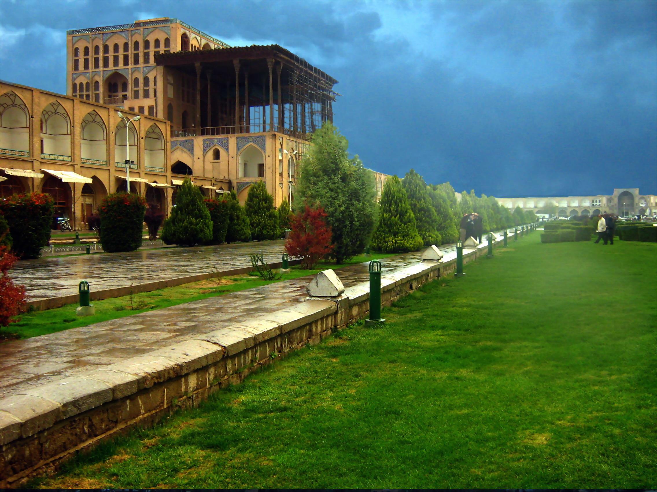 Дворец_Чехель_Сотун_Исфахан