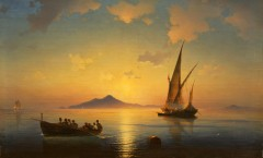 Иван_К._Айвазовский_-_Неаполитанский_залив_(1841)