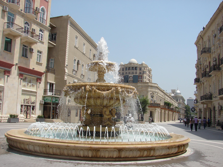 Фонтаны_Баку