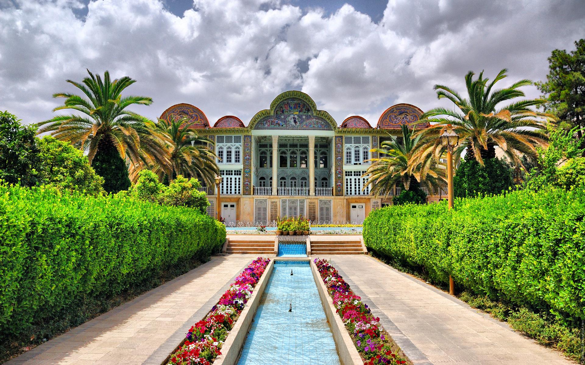 ботанический_сад_Шираз_Иран