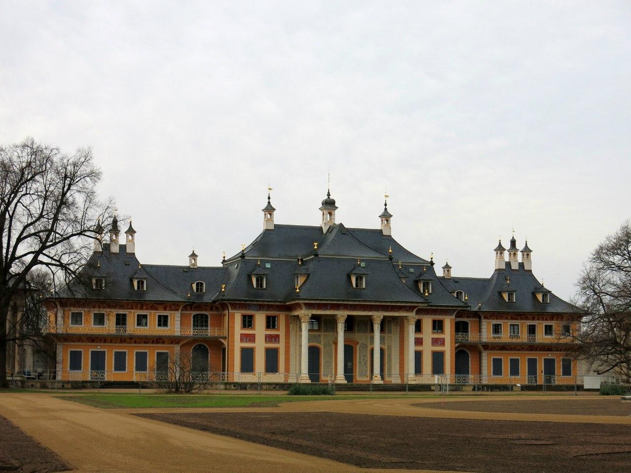 замок_Пильниц_Дрезден