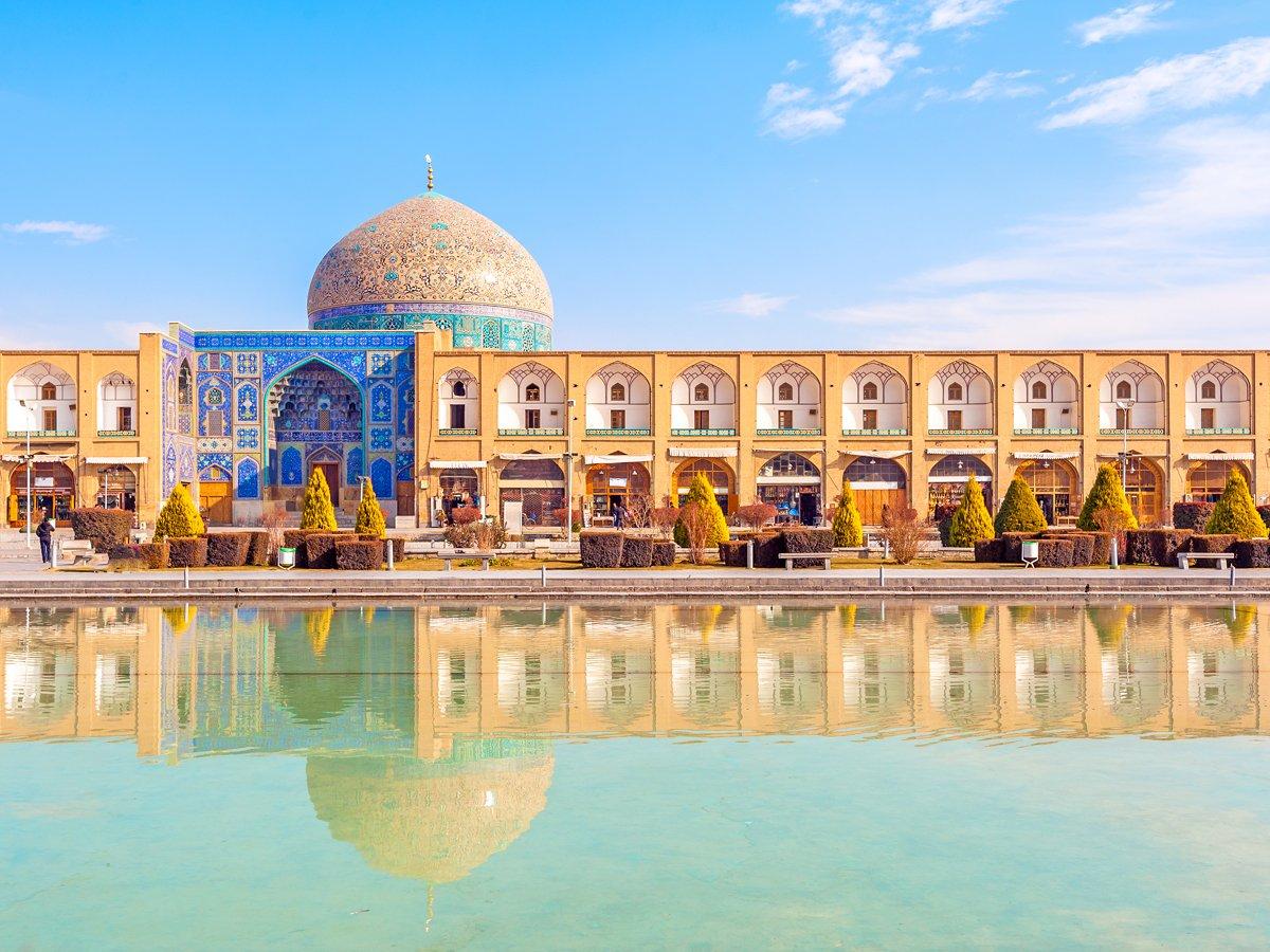 мечеть_шейха_Лотфуллы_Исфахан_площадь_Имама_Иран