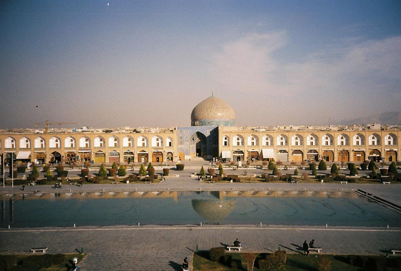 площадь_Имама_Хомейни_Исфахан_Иран