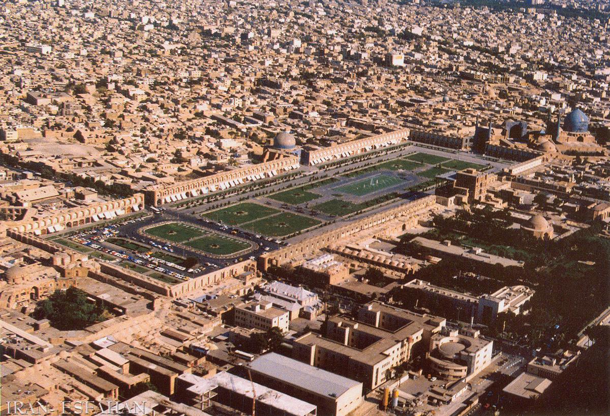 площадь_Имама_Хомейни_сверху_Исфахан_Иран