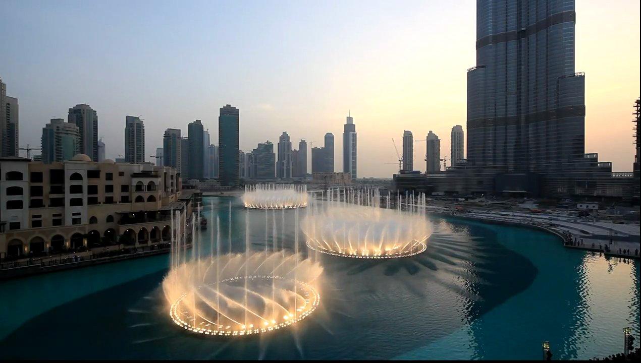 фонтаны_в_Дубае