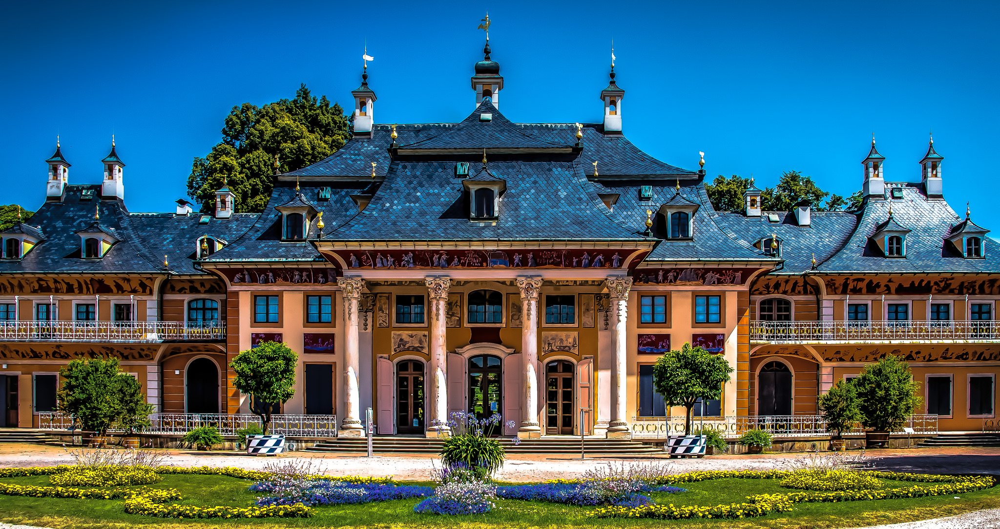 Pillnitz.Castle.Dresden.Germany