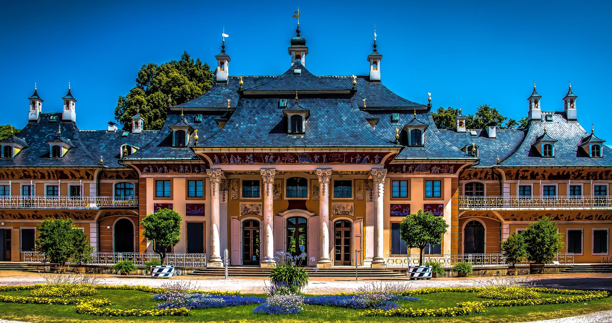 Pillnitz.Castle.Dresden.Germany