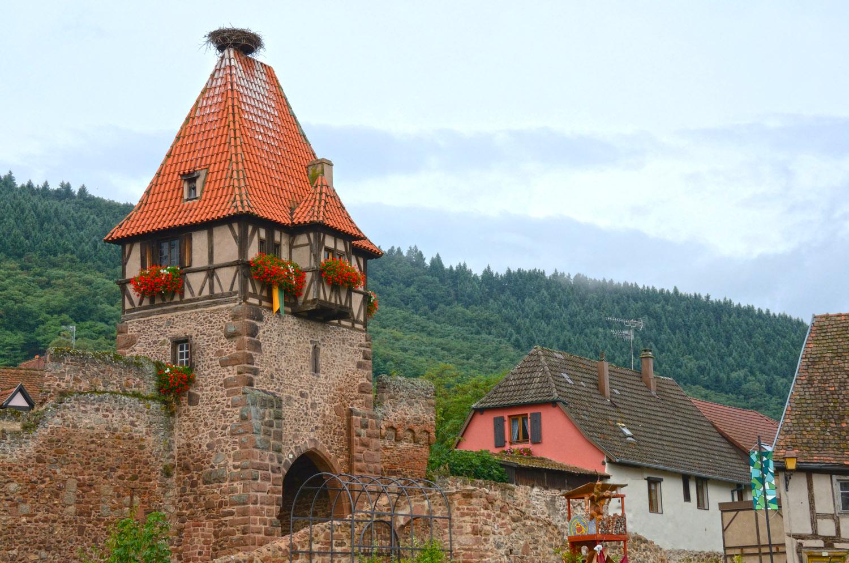 Башня_ведьм_сторожевая_башня_Эльзас_Франция