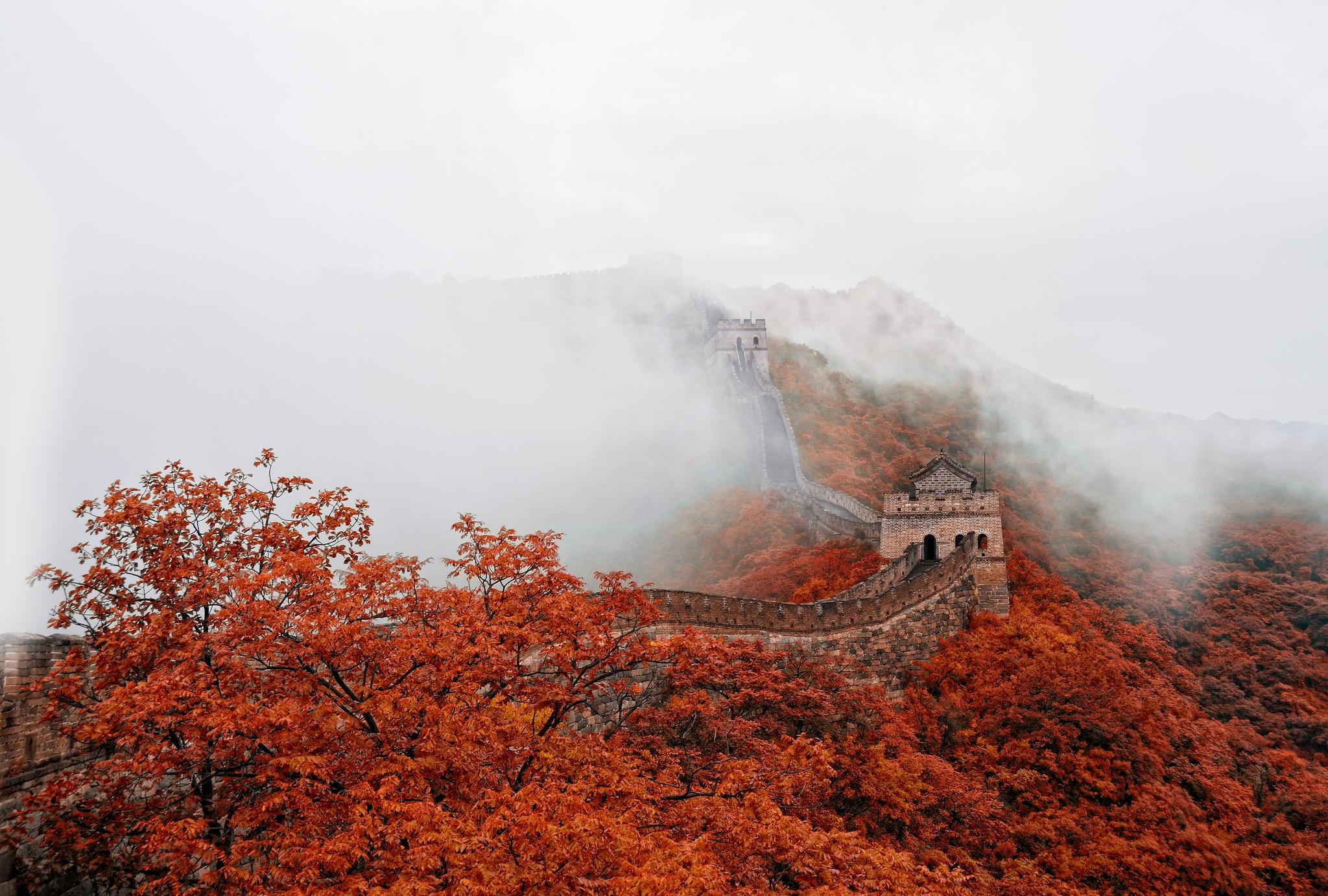 Великая_Китайская_Стена_The_Great_Chine_Wall._туман