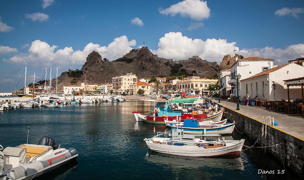 Морской_порт_Греция_Эгейское_море