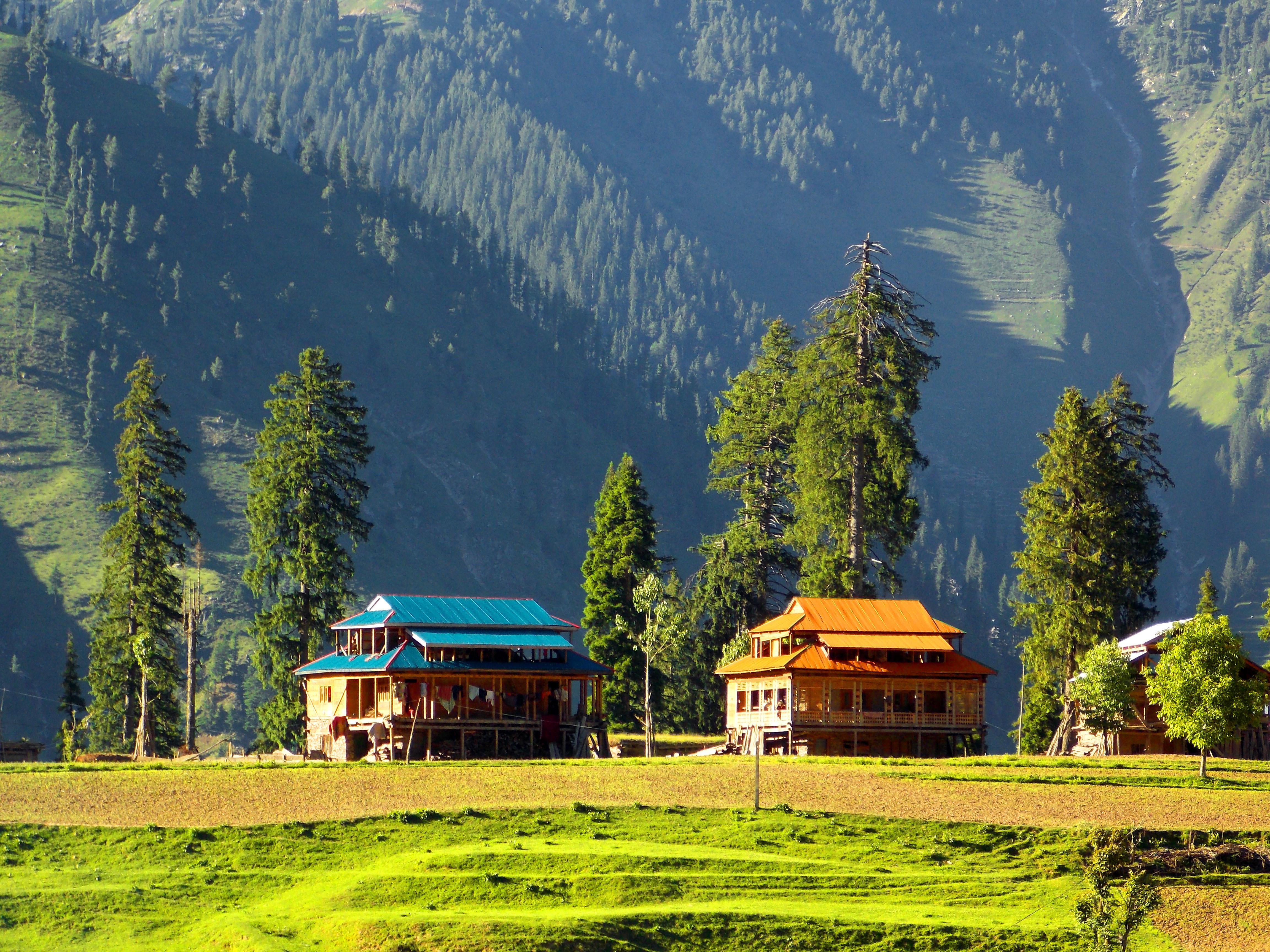 Пакистан-деревня-Нилам