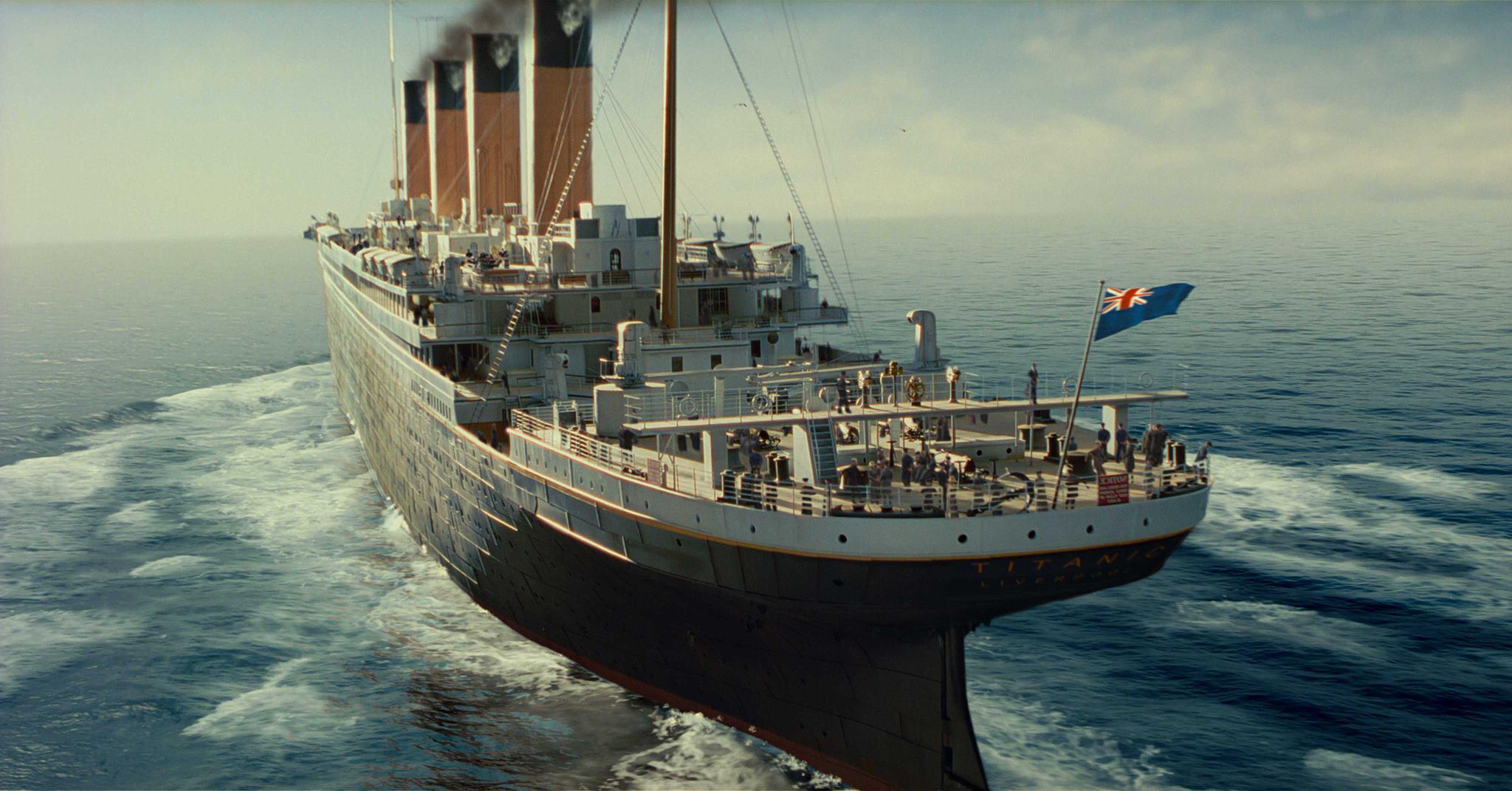 титаник-корабль-вид-сверху