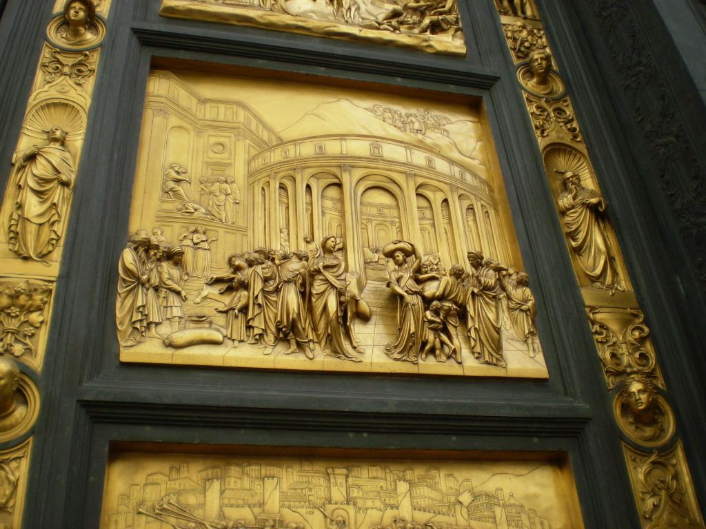 Восточные ворота Баптистерия («Врата рая»). Панель «История Иосифа» (копия)