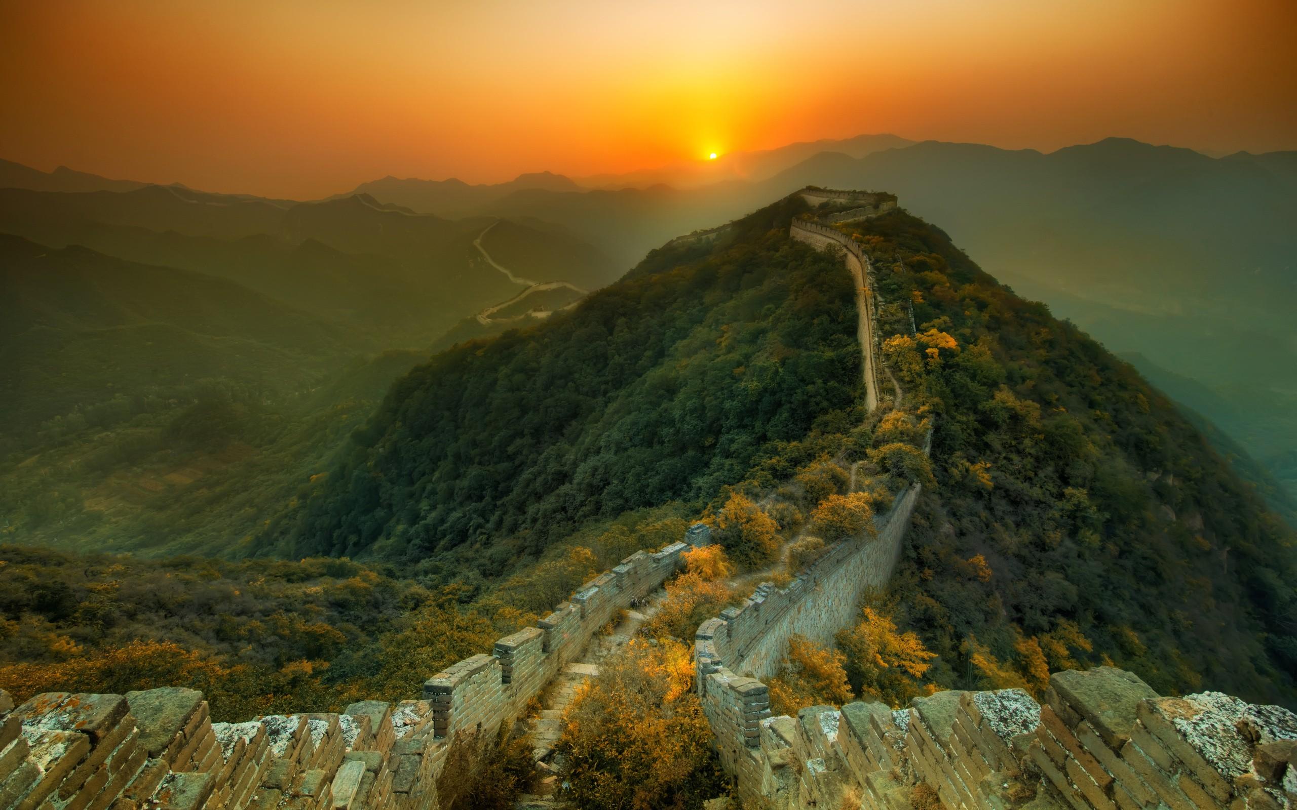 Great_Wall_of_China_sunset
