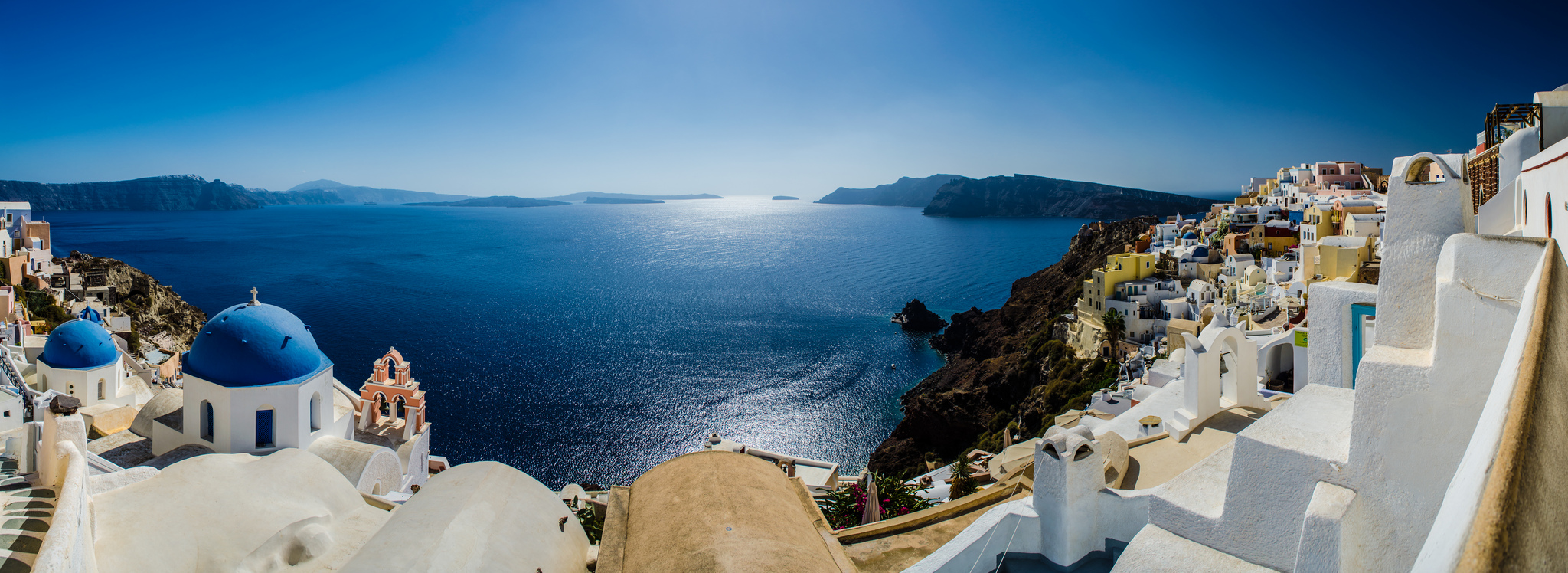 Santorini_Greece_Санторини_Греция_обои_