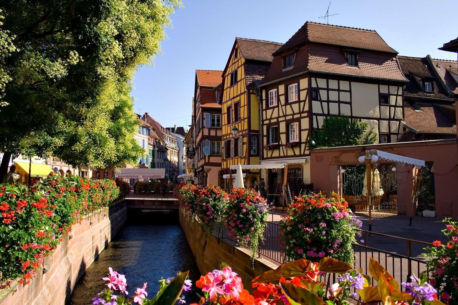 Красивые_дома_Эльзас_Франция_улицы_Франции