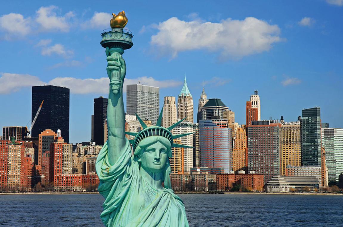 фото статуя свободы в нью-йорке