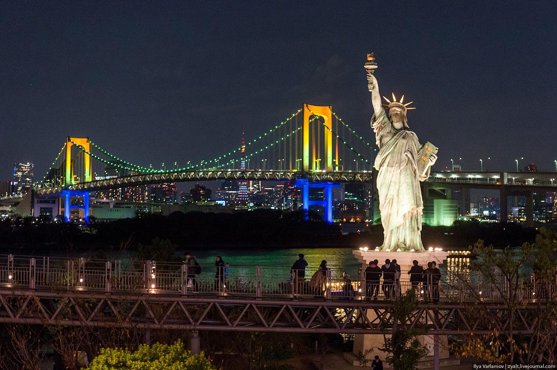 Статуя_Свободы_ночью__Нью-Йорк_США_вид_на_Нью-Йорк2