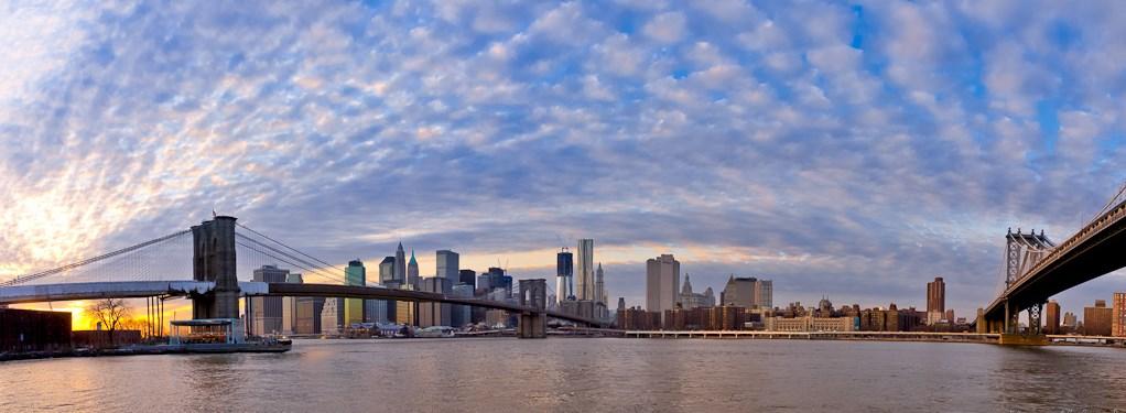 Бруклин_Нью-Йорк_США_мост